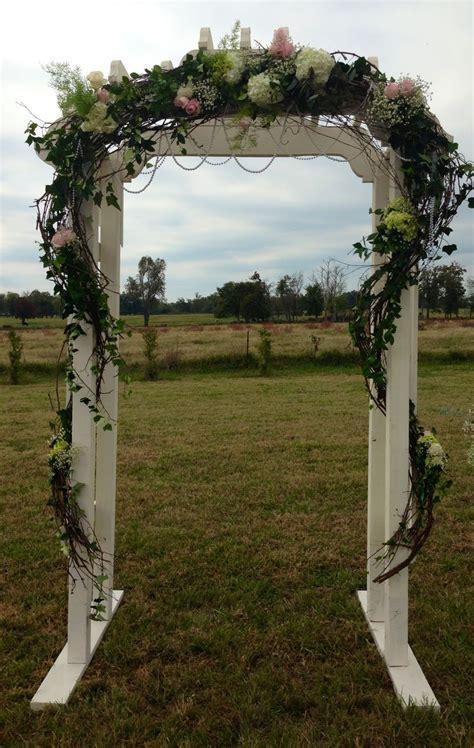 Vintage Wedding Arbor   wedding ideas   Pinterest
