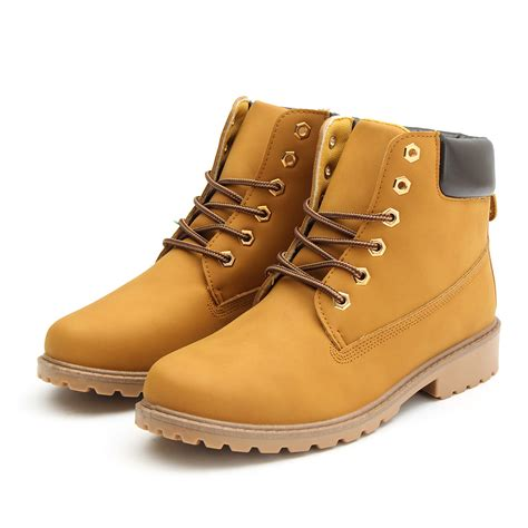 new work boots s winter leather boot lace up outdoor
