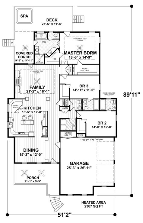 narrow kitchen floor plans eastgate cottage 4379 3 bedrooms and 3 baths the house