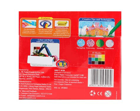 Connector Pen 30 Warna Faber Castell Gift Set buy faber castell connector pen pack of 15 in india kheliya toys