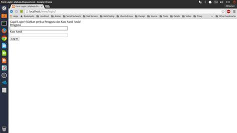 cara membuat halaman utama web dengan php phpbejo cara membuat halaman login website dengan php dan