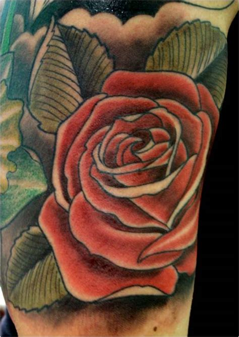 trend tattoo styles rose tattoo colors