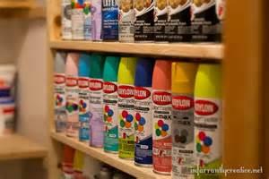spray paint bookshelf diy spray paint shelf holds 117 cans