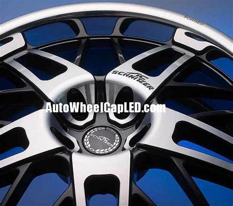 bmw ac schnitzer forged 68mm wheel center hubs caps black chrome silver roundels 4pcs emblems