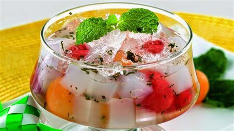 cara membuat es buah yang praktis cara membuat es buah enak dan praktis resep masakan