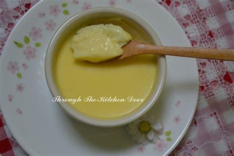 steamed eggs the optimist kitchen through the kitchen door steamed egg with milk custard 鮮奶燉蛋