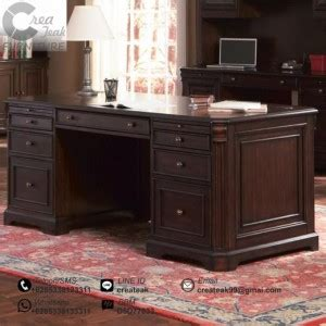 Meja Eksekutif meja kantor eksekutif jepara createak furniture createak furniture
