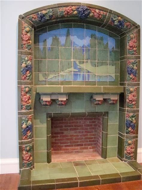 Rookwood Fireplace by Every Day Is A Gift Rookwood Pottery