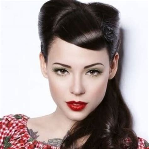 Pin Up Hairstyles With Bangs by Pin Up Hairstyles Without Bangs 50 Pin Up Hairstyles For
