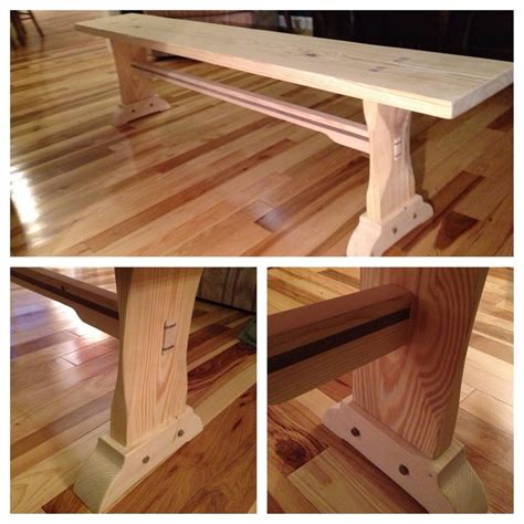table benches custom farm table bench by feicht co custommade com