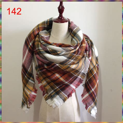 Prasmina Turkey Branded 1 za scarf tartan plaid fashion scarf