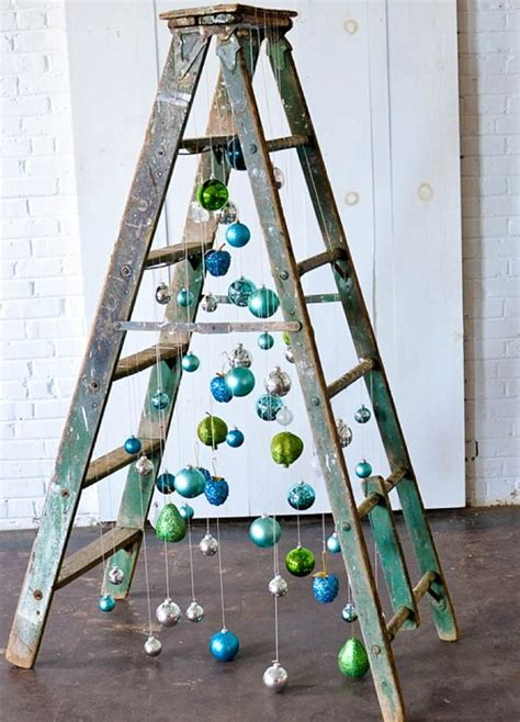 how to make a ladder christmas tree inspiration station and funky ladder tree paisley jade vintage
