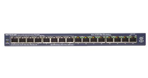 Netgear Fs116p Switch Hub netgear prosafe fs116p 16 port 10 100 switch wit