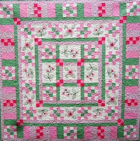 Machine Embroidery Quilt Patterns by Girly Machine Embroidery Pattern By Turnberry