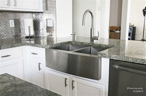 Pneumatic Addict How To Install An Apron Sink In A Stock How To Install An Apron Kitchen Sink