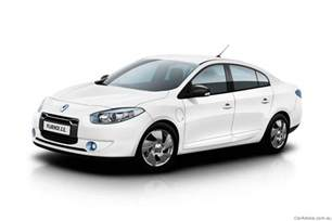 Best Value Electric Car Australia 2012 Renault Fluence Z E Battery Swapping Electric Car