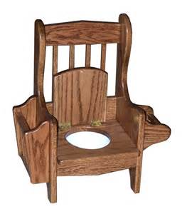 wood potty chair mission amish furniture crafts