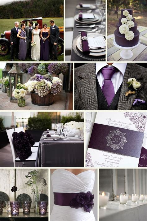 the plum and charcoal it would be to add the ribbon belt at the reception i think