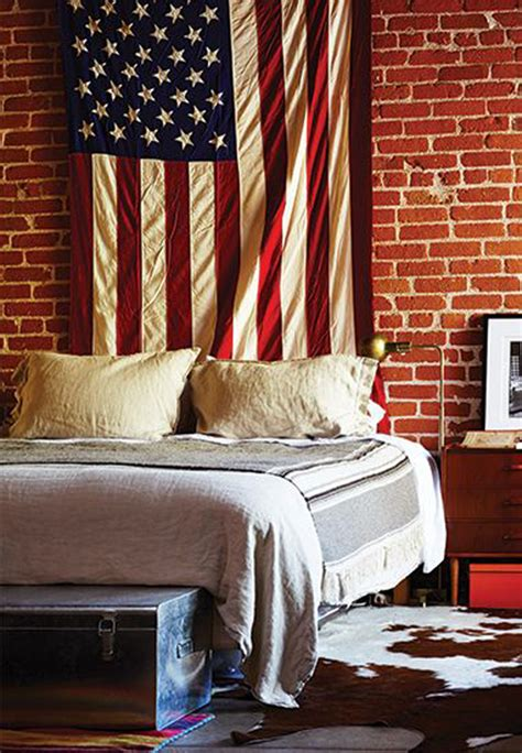 American Flag Decorations by College Space With American Flag Display Decorazilla Design