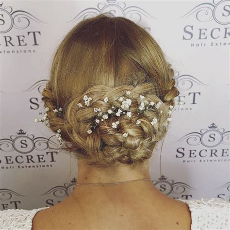 Clip In Hair Extensions for Bridal Hair.   Secret Hair