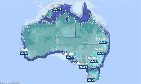 australia to become antarctica as temperatures plunge to