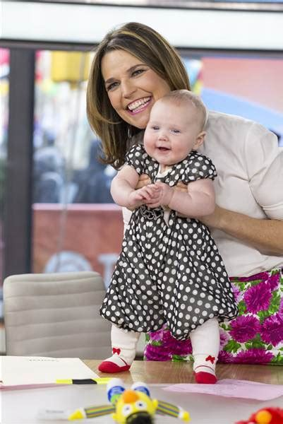 when i savannah due second baby savannah guthrie reveals she s pregnant with second baby