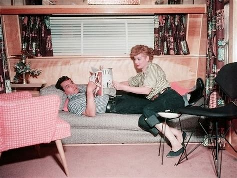 1953 decorating guide for your i love lucy home desi love those classic movies the long long trailer 1953