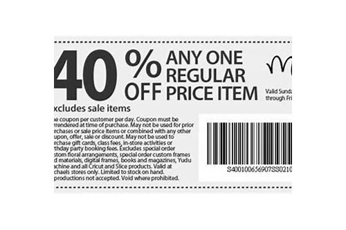 michaels coupons canada printable