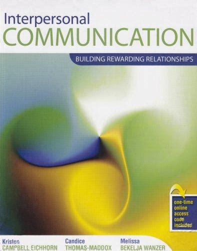 interpersonal messages communication and relationship 2nd edition ebook books by author thomas p cbell direct textbook