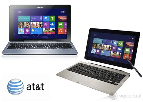 Tablet Samsung Os Windows 8 at t announces samsung and asus windows 8 tablets windows central