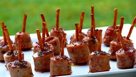 maple glazed apple chicken sausage bites noble pig