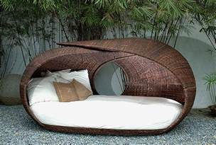Outdoor Wicker Daybed Furniture Comfortable Wicker Outdoor Daybed For Patio Trends And Most Pictures Brown