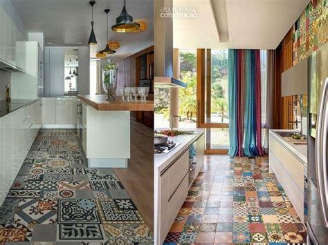 dekorasi dapur ubin terbaik menampilkan ruang dapur klasik unik interiordesignid