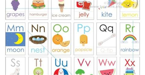 cute printable alphabet flash cards cute kawaii abc alphabet flash cards printable pdf