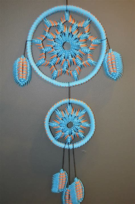 How To Make A Paper Dreamcatcher - catcher my 3d origami catchers