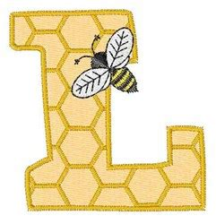 honeycomb pattern font honeycomb font l embroidery designs machine embroidery