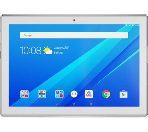 Buy LENOVO Tab4 10 Tablet   16 GB, White   Free Delivery   Currys