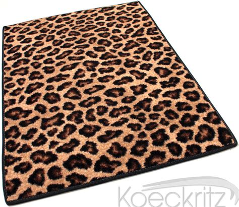 animal print throw rugs leopold leopard print cut pile area rug 100 stainmaster many sizes ebay