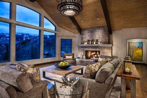 ranch contemporary living room denver by
