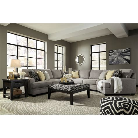 furniture groupings living room benchcraft cresson stationary living room sol