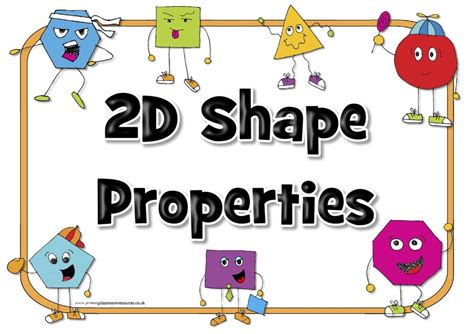 house shapes 2d shapes by bettsx teaching resources tes 2d shapes properties poster pack teaching resource maths