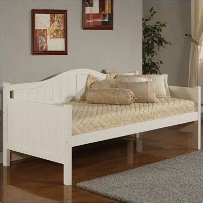 cheap day beds hillsdale staci wood daybed in white finish daybeds