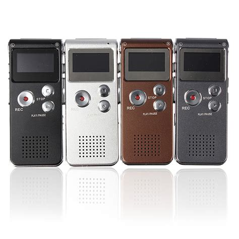 Digital Voice Recorder With Mp3 Player 4gb 4gb 650hr digital audio voice recorder mp3 player
