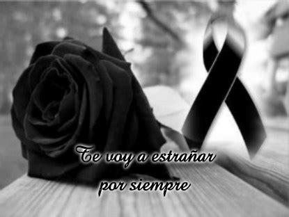 imagenes de luto x amor rosas negras mo 241 os y lazos con mensajes y frases de
