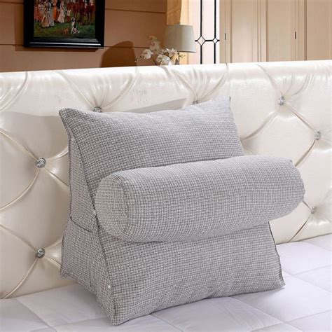 pillow bed chair adjustable sofa bed chair rest neck support back wedge