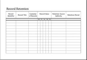Record Template by Editable Printable Time And Attendance Sheet Excel Templates