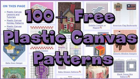 new plastic canvas free patterns more and better free plastic canvas patterns allcrafts