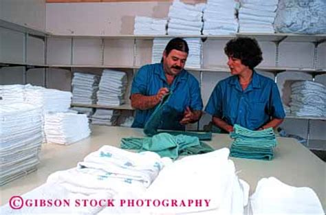released hospital housekeeping staff laundry stock photo 4482