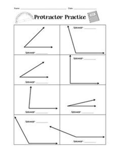 measuring angles with a protractor worksheet pdf free partner angle practice students take turns estimating and measuring angles with a