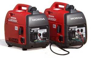Honda Eu2000i Parallel Kit Honda Eu2000i Combo Package This Package Will Give You